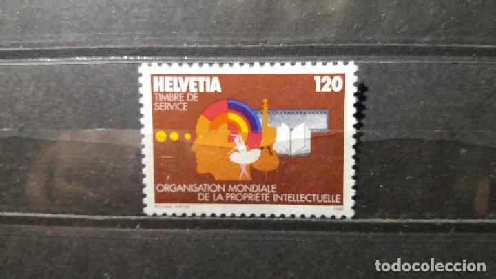 SELLO NUEVO. ORGANIZACIÓN MUDIAL PROPIEDAD INTELECTUAL. 27 MAYO 1982. YVERT S460. (Sellos - Extranjero - Europa - Suiza)