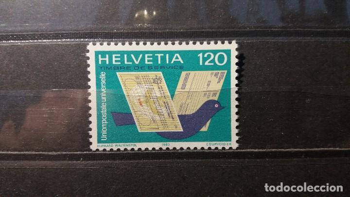 SELLO NUEVO. UNIÓN POSTAL UNIVERSAL. 22 MAYO 1983. YVERT S462. (Sellos - Extranjero - Europa - Suiza)