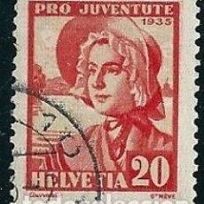 Sellos: SELLOS USADOS DE SUIZA, YT 284. Lote 194091076