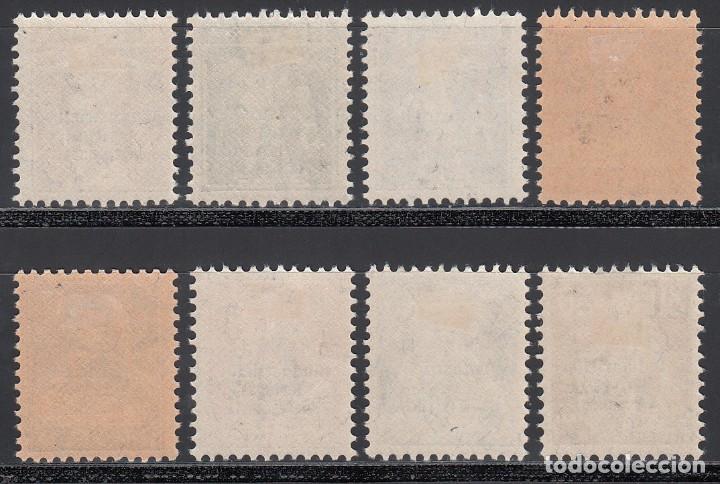 Sellos: SUIZA, SERVICIO 1918 YVERT Nº 1 / 8 /*/, - Foto 2 - 194729733