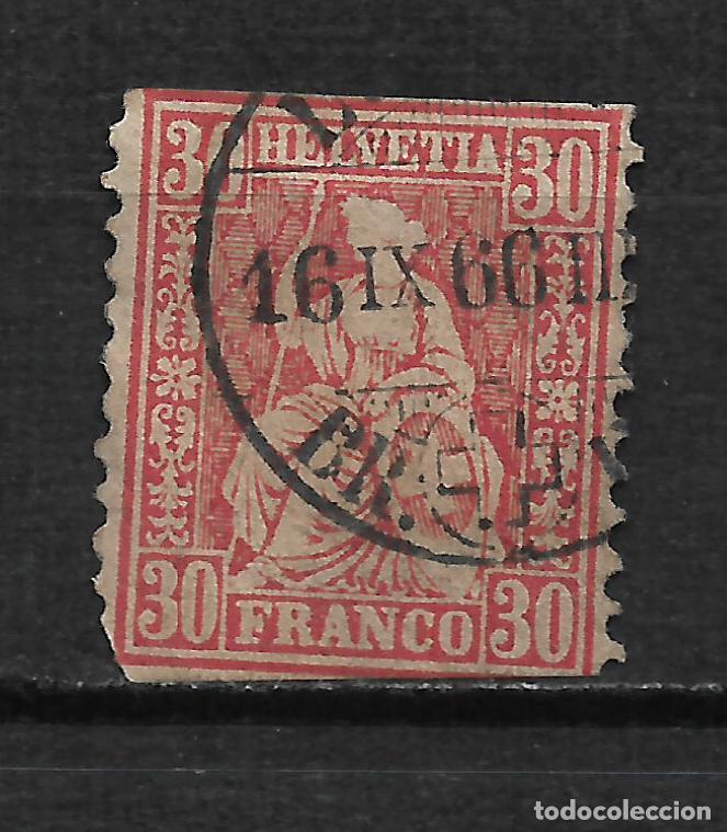 SUIZA 1862-64 SCOTT # 46 - 2/14 (Sellos - Extranjero - Europa - Suiza)