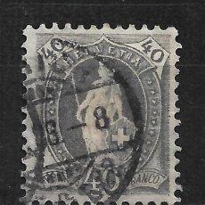Sellos: SUIZA 1901 SCOTT # 84B - 2/14. Lote 194985183