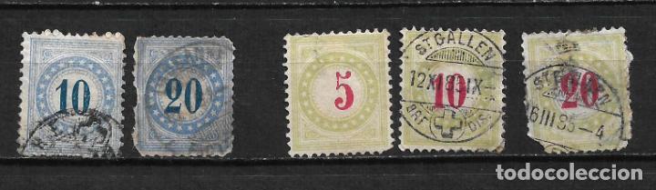 SUIZA 1882-83 Y 1884-97 - 2/14 (Sellos - Extranjero - Europa - Suiza)