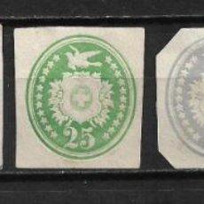 Sellos: SUIZA 1889 RECORTES SOBRES ENTEROS POSTALES Y TARJETA POSTAL - 2/14. Lote 194994077