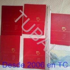 Sellos: TUBAL 1983 85 86 87 88 AÑOS COMPLETOS EDICION LUJO NUEVOS ENVIO 4,99 2020 U23. Lote 195036037