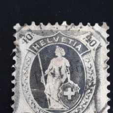Sellos: SUIZA , YVERT 92 , VER. Lote 195453307