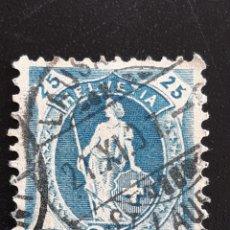 Sellos: SUIZA , YVERT 94. Lote 195454822