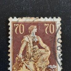 Sellos: SUIZA , YVERT 125. Lote 195456330