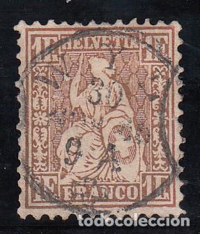 SUIZA, 1862 YVERT Nº 41A (Sellos - Extranjero - Europa - Suiza)