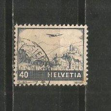 Francobolli: SUIZA CORREO AEREO YVERT NUM. 28 USADO. Lote 196305033