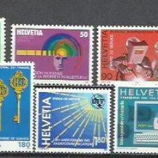Sellos: 9363C-NUEVO MNH** COLECCION LOTE SUIZA SERVICIO SERIES COMPLETAS 21,00€ , LOS DE IMAGEN, LUJO. ENVI. Lote 198466240