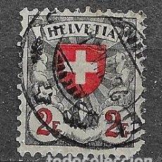 Sellos: SUIZA,1924-27,SERIE GENERAL,YVERT 211,USADOS. Lote 198478660