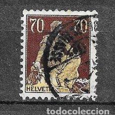 Sellos: SUIZA,1907-17,SERIE GENERAL,YVERT 125,USADOS. Lote 198479087