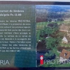 Sellos: SUIZA - CARNET PRO PATRIA 1997 - IVERT Nº C1541 - 2 FOTOS. Lote 198675156