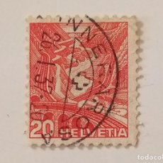 Sellos: SUIZA. 1936 PAISAJES 20C. Lote 206202513
