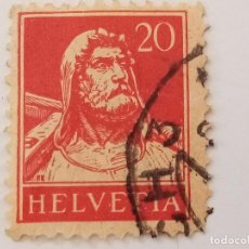 Sellos: SUIZA 1921 - 1924 20C. Lote 206208886
