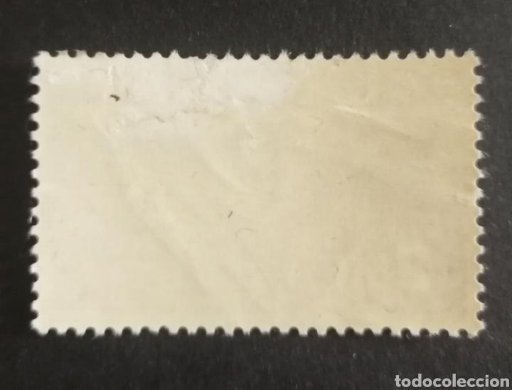 Sellos: SUIZA, AÉREO N°41 MH, AÑO 1947 (FOTOGRAFÍA REAL) - Foto 2 - 206353678