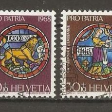 Sellos: SUIZA.1968. YV Nº 807/810. Lote 207068010