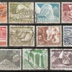 Sellos: SUIZA.1949. YT 482 A 492. Lote 207068625