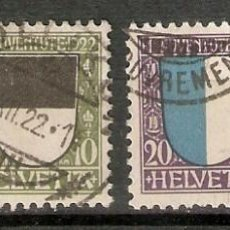 Sellos: SUIZA.1922. YT 188/191. Lote 207068802