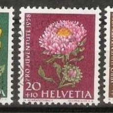 Sellos: SUIZA.1957. YT 616/620. Lote 207069475