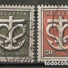 Sellos: SUIZA.1945. YT 403,404. Lote 207069658