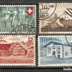 Sellos: SUIZA.19456. YT 428/431. Lote 207070406