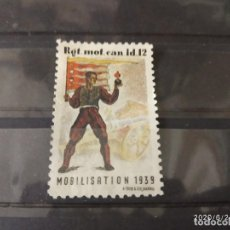 Sellos: SUIZA 1939 SEGUNDA GUERRA MUNDIAL WWII. CATALOGO WITTWER.. Lote 210517495
