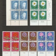 Sellos: SUIZA. 1963 .YV. 721/725.. Lote 210829566
