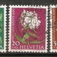 Sellos: SUIZA.1960. YT 668/672. Lote 210830286