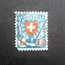 Sellos: SELLO DE SUIZA 1924, ESCUDO DE ARMAS. Lote 212500933