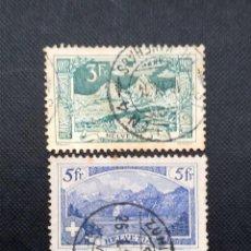 Sellos: ANTIGUOS SELLOS DE SUIZA 1914, PAISAJES. Lote 212502538