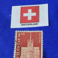 Sellos: SUIZA A7. Lote 212596000