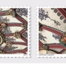 Sellos: SWITZERLAND 2017 - 500 YEARS BERN CATHEDRAL VAULTED CEILING STAMP SET MNH. Lote 213998721
