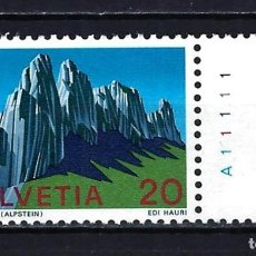 Timbres: 1970 SUIZA MICHEL 911 YVERT 838 ALPES SUIZOS KREUZBERGE - MNH** NUEVO SIN FIJASELLOS. Lote 217297965