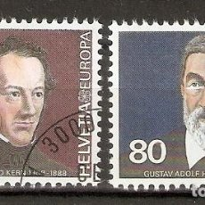 Sellos: SUIZA.1980. YT 1104,1105. EUROPA. CEPT. Lote 218491413