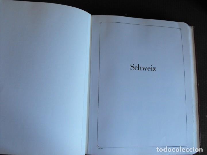 Sellos: Suiza. Álbum y cuaderno con hojas. 1843-1998. Todo en las fotos. - Foto 3 - 219513556
