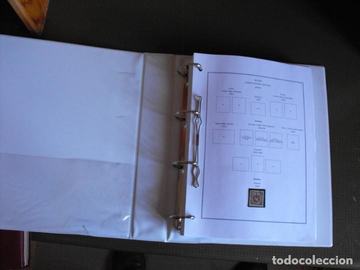 Sellos: Suiza. Álbum y cuaderno con hojas. 1843-1998. Todo en las fotos. - Foto 4 - 219513556