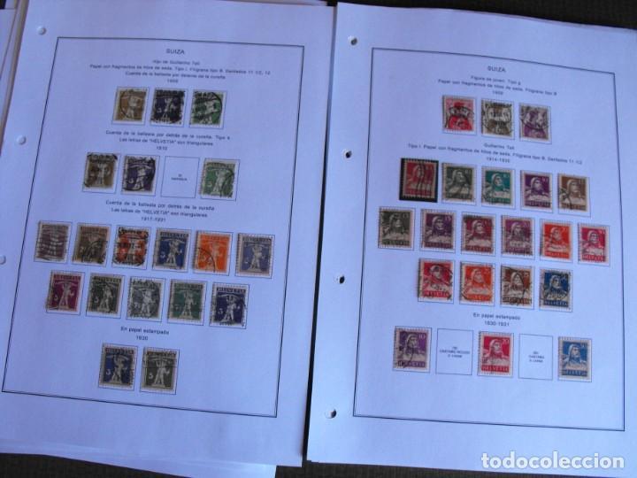 Sellos: Suiza. Álbum y cuaderno con hojas. 1843-1998. Todo en las fotos. - Foto 13 - 219513556
