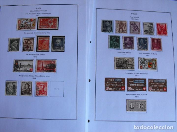 Sellos: Suiza. Álbum y cuaderno con hojas. 1843-1998. Todo en las fotos. - Foto 22 - 219513556