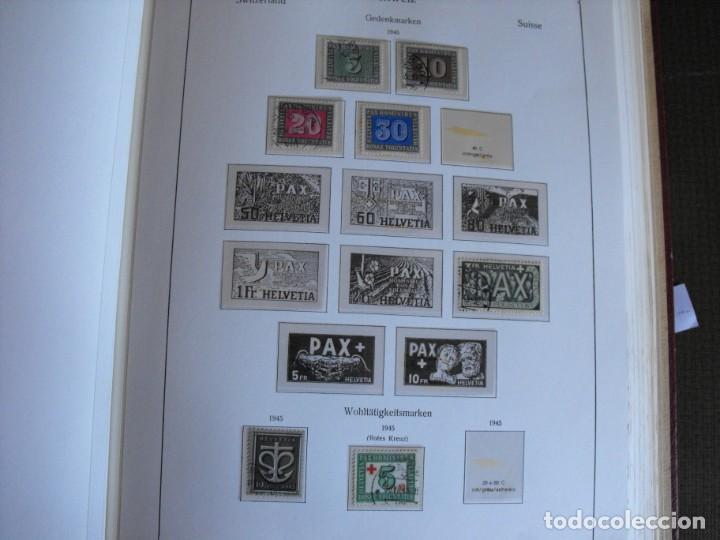Sellos: Suiza. Álbum y cuaderno con hojas. 1843-1998. Todo en las fotos. - Foto 24 - 219513556