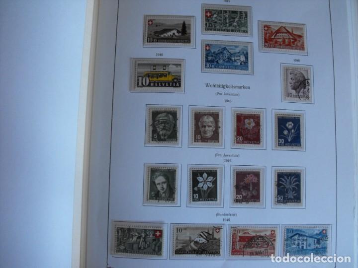 Sellos: Suiza. Álbum y cuaderno con hojas. 1843-1998. Todo en las fotos. - Foto 25 - 219513556