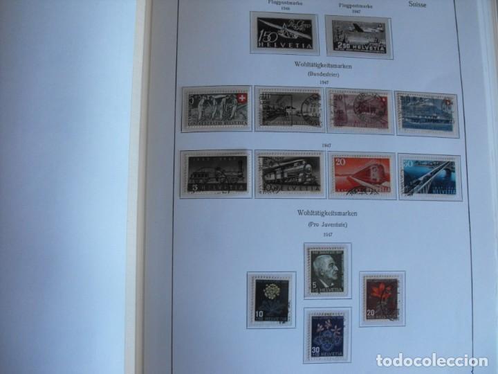 Sellos: Suiza. Álbum y cuaderno con hojas. 1843-1998. Todo en las fotos. - Foto 26 - 219513556