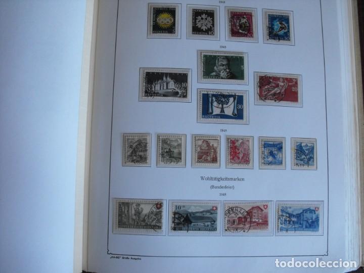 Sellos: Suiza. Álbum y cuaderno con hojas. 1843-1998. Todo en las fotos. - Foto 27 - 219513556
