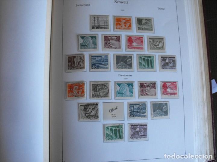 Sellos: Suiza. Álbum y cuaderno con hojas. 1843-1998. Todo en las fotos. - Foto 29 - 219513556