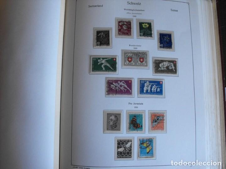 Sellos: Suiza. Álbum y cuaderno con hojas. 1843-1998. Todo en las fotos. - Foto 30 - 219513556