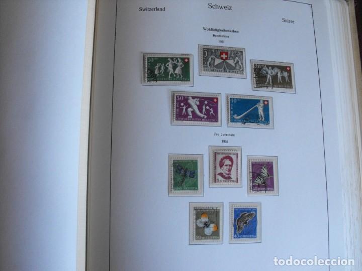 Sellos: Suiza. Álbum y cuaderno con hojas. 1843-1998. Todo en las fotos. - Foto 31 - 219513556