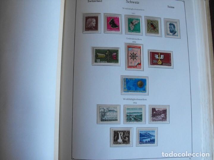 Sellos: Suiza. Álbum y cuaderno con hojas. 1843-1998. Todo en las fotos. - Foto 34 - 219513556