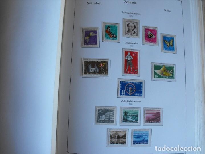 Sellos: Suiza. Álbum y cuaderno con hojas. 1843-1998. Todo en las fotos. - Foto 35 - 219513556