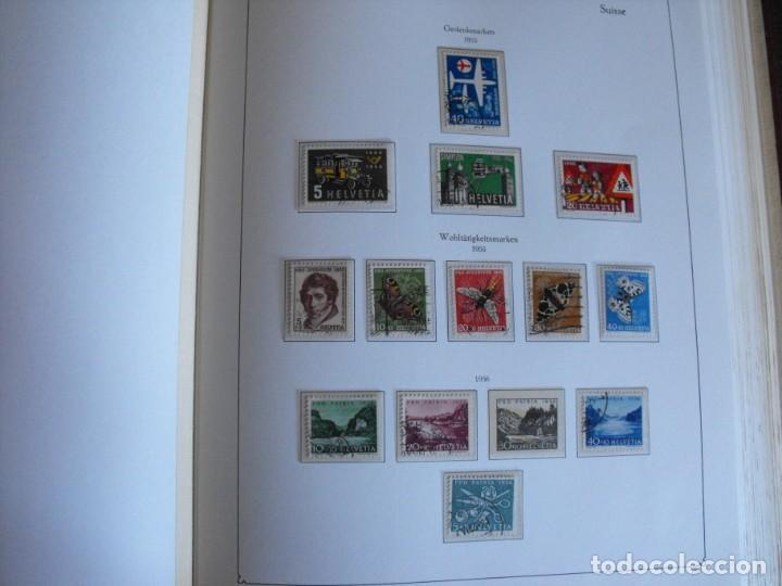 Sellos: Suiza. Álbum y cuaderno con hojas. 1843-1998. Todo en las fotos. - Foto 36 - 219513556
